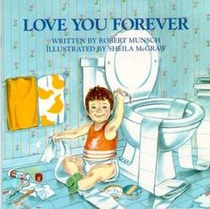 Still makes me cry to think of how I used to read this book to the kiddos.  Makes my now grown kiddos afraid I'll buy a ladder one day.