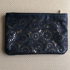 REDUCED Sephora NWOT cosmetic bag NWOT Sephora cosmetic bag with silver background Sephora Bags Cosmetic Bags & Cases