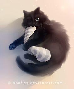 balck mačička com Vyhrnutá sukňa Mačička lízanie