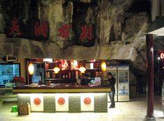9 Best Amazing Cave Restaurant Above Yangtze River China Images