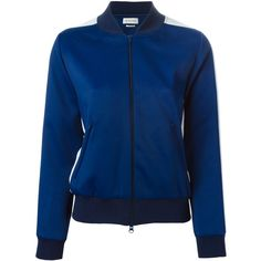 Isabel Marant Étoile 'Idan' sports jacket (8.435.400 VND) ❤ liked on Polyvore featuring activewear, activewear jackets, blue and sports activewear