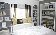 Creating an Office in a Closet   Hometalk