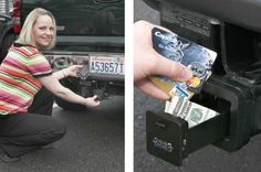 Cool High-Tech Gadgets New | ... Valuables Safely in your Trailer Hitch – New high tech spy gadgets