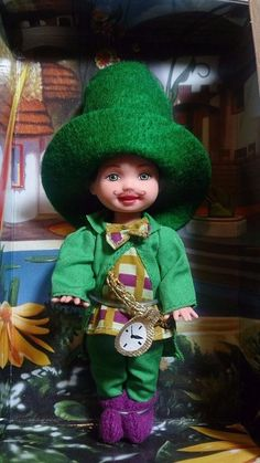 #Barbie mattel #wizardofoz #forsale munchkin kelly doll tommy pink label #collector mayor #Mattel #Dolls