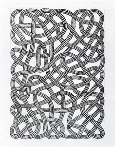 Anni Albers, Drawing for rug, 1959 (viaLoopy Things | julia ritson) (vialentonnoire)