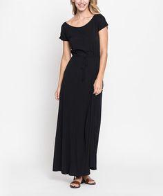 Black Maxi Dress #zulily #zulilyfinds