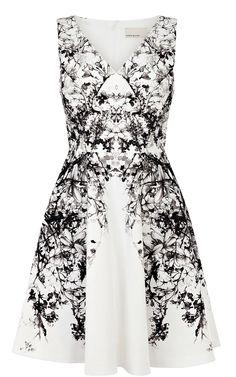Dress Black & White | Karen Millen