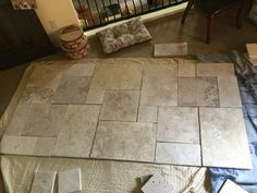 Tile Floor, New Homes, Flooring, Texture, Crafts, House, Manualidades, New Home Essentials, Tile Flooring