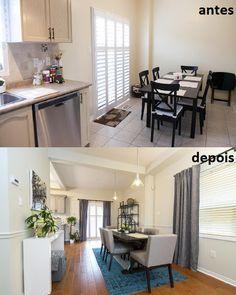 Sala de Jantar  Property Brothers - Buying&Selling - Season 3 - Daniel e Vanessa