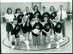 Volleyball at Millersville goes back to 1990. This #ThrowbackThursday photo is Millersville's first-ever team. Do you recognize anyone?