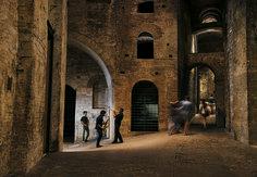 Sensational Umbria! copyright Steve McCurry - Rocca Paolina a Perugia - Umbria Jazz