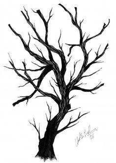 Mürekkep Düşümü Varlığın Deseni: Ink on paper - _ Umut Saim Balkır Tree Tattoo Designs, Tree Designs, Tree Silhouette Tattoo, Branch Drawing, Tree Sketches, Tree Artwork, Scratchboard, Aesthetic Drawing, Diy Canvas Art
