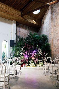 Sarah + Nick Half Acre, South Melbourne - The Style Co. Surfer Wedding, La Jolla Hotels, Ceremony Arch, Wedding Ceremony, Wedding Tux, Dream Wedding, Wedding Signage, Darlington House, Tent Decorations
