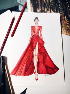 trendige mode ilustration inspiration moda - trendige mode ilustration inspiration moda - - Fashion Design Находи в Интернете самые красивые картинки и делись ими с друзьями по всему миру Fashion Illustrations by Natalia Zorin Liu Dress Design Drawing, Dress Design Sketches, Fashion Design Sketchbook, Dress Drawing, Fashion Design Drawings, Fashion Drawing Dresses, Fashion Illustration Dresses, Fashion Dresses, Fashion Illustrations