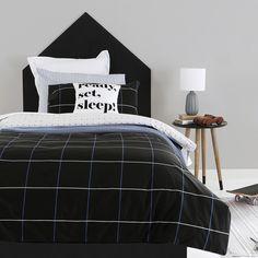 Manhattan Grey Quilt Cover Set | Pillow Talk