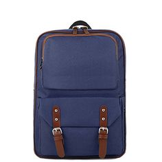 Artone Unisex Oxford Laptop Backpack School Daypack With Laptop Compartment Deep Blue *** Learn more by visiting the image link. (This is an affiliate link) #TravelLaptopBags