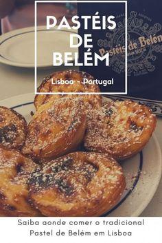 Experimente o pastel de belém em Lisboa e exatamente aonde ele nasceu, na Fábrica dos Pastéis de Belém