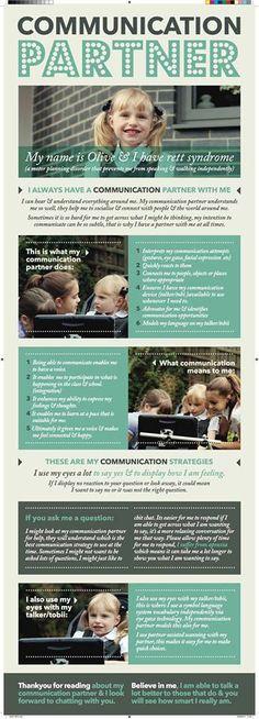 Communication Partner Printable « Rett Girl