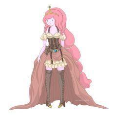 Steampunk Adventure Time - Princess Bubblegum