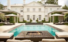 Lounging Poolside... - Design Chic