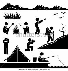 Extreme Sports Icon Set Ilustraciones vectoriales en stock: 112422428 : Shutterstock