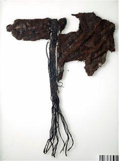 Textile fragment. Silk. Grave find, Björkö, Adelsö, Uppland, Sweden. SHM 34000:Bj 735
