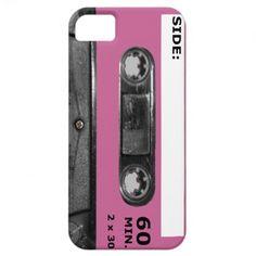 Customize Your Color Cassette iPhone 5 Case