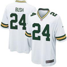 Nike Elite Green Bay Packers Jarrett Bush 24 White NFL Jersey for Sale Sale