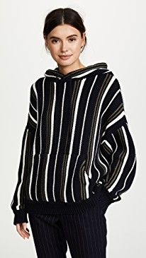 New 6397 Striped Baja Hoodie online. Find the  great Warm Clothing from top store. Sku dgmp13619vvbp36149