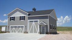 RV Garage with Living Quarters