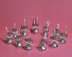 Ángeles dulces Chocolate  juego de 60  boda por SandycraftsOnline