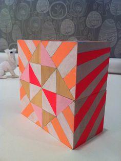 Love these geometric blocks from Sketchinc $48
