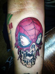 My Spiderman tattoo! By Tommy Gunnz Spiderman Tattoo, New Skin, Tatting, Tattoo Ideas, Nice, Bobbin Lace, Needle Tatting, Nice France