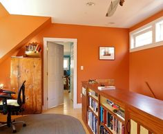 Baked Clay Sw 6340 Will Warm Up Any Home Office Small