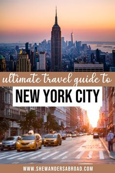 Planning to visit New York City for the first time? Here's the only NYC travel guide you will ever need! When to visit NYC, where to stay in NYC, and many more! | Top things to do in NYC | USA travel tips | NYC bucket list | NYC travel tips | Where to go in New York | What to do in New York | Visiting NYC for the first time | NYC vacation tips | New York City travel tips | NYC guide | How to travel in NYC | New York Travel Guide | Best places to stay in NYC | NYC tourist tips | NYC holiday… New York Travel Guide, New York City Travel, Travel Tips, Nyc Bucket List, Nyc Holidays, Visit New York City, Visiting Nyc, Usa Travel, Where To Go