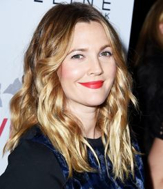 The Secret Behind Drew Barrymore's Fabulous Hair Is Surprisingly Simple from #InStyle