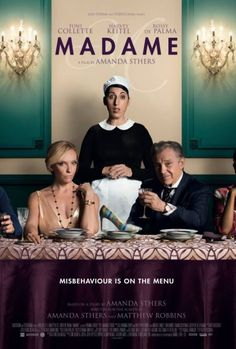 Madame Movie starring Toni Collette, Harvey Keitel, and Rossy de Palma