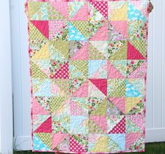 Sweet quilt for a baby