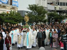 Corpus Christi, lema Misericordiosos como el Padre, en el marco del Año de la Misericordia por el Papa, Año Diocesano del Compromiso Cívico y Ciudadano