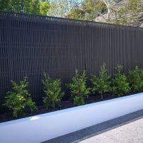 110 Popular Fence Ideas and Design Tips » Engineering Basic Backyard Garden Design, Backyard Fences, Fence Garden, Brighton, English Garden Design, Types Of Fences, Modern Fence, Modern Driveway, Fence Design