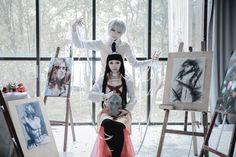 PSYCHO-PASS サイコパス - somei seiya(seiya/清夜) Shogo Makishima, SHU(沭。) Rikako Oryo Cosplay Photo - Cure WorldCosplay