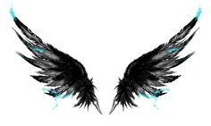 Icarus ink wings!!! I've had this design in my head for years!! I'm getting one on each shoulder n_n can't wait!! by Torn Corner Designs