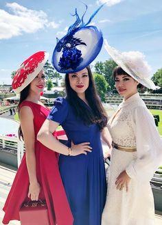 ad16c82ce376 Millinery Royal Ascot Ladies Day 2018. YUAN LI LONDON ...