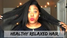 ESSNTL | How to Grow Healthy Relaxed Hair