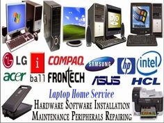 All hardware and software solution at our Laptop Home Service Company and now you can demand for doorsteps laptop repair service at your local areas where you are stay and our service center is situated in Ashok Vihar North West Delhi 110054 and fix all laptops brands and models. Visit our site to get more information.