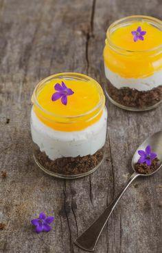 Fanta-pohárkrém cukormentesen - WANDER | FOOD | WONDER Granola, Panna Cotta, Sweet Tooth, Pudding, Snacks, Ethnic Recipes, Desserts, Food, Wander