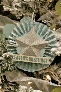 Christmas Ornaments from Stampin' Up Founders Circle 2014