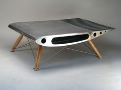Elegant A Collection Of Aviation Furniture By Canadian Artist Arnt Arntzen.