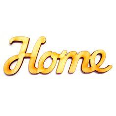 Fa felirat HOME 12cm x 4cm - Fatáblák, fa feliratok - KHSHOP.HU - A Kreatív Hobby webáruház Company Logo, Logos, Home, Decor, Decoration, Logo, Ad Home, Homes, Decorating