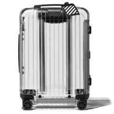 中身が透ける透明ボディを纏ったリモワのコラボ・キャリーケース、どう使いこなす !? | News&Topics | Pen Online